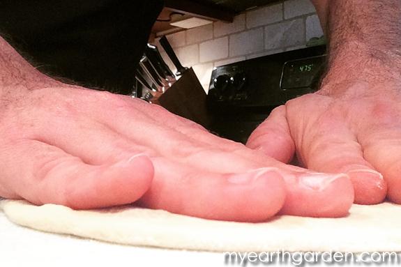 Calzone Dough Rolling