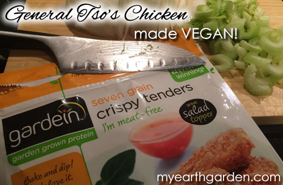 Vegan General Tso Chicken - Gardein