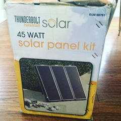 My Earth Garden - Solar Panel Kit