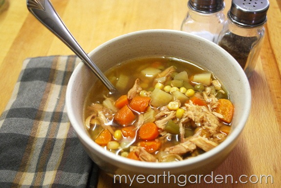 My Earth Garden: Homemade Chicken Soup