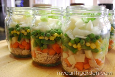 My Earth Garden: Home Canned Chicken Soup