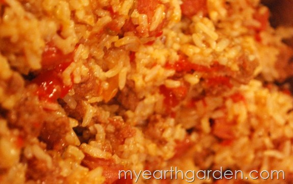My Earth Garden: Dirty Rice Recipe