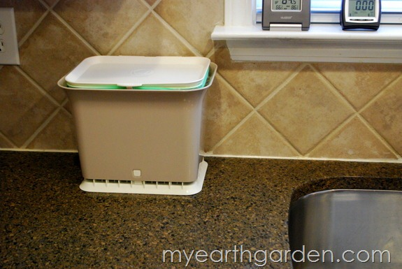My Earth Garden: Full Circle Fresh Air Odor-Free Kitchen Compost Collector