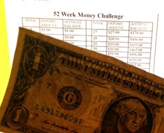 52 Week Money Challenge Week 1