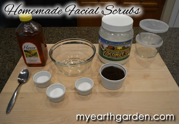 Make Your Own Face Scrub