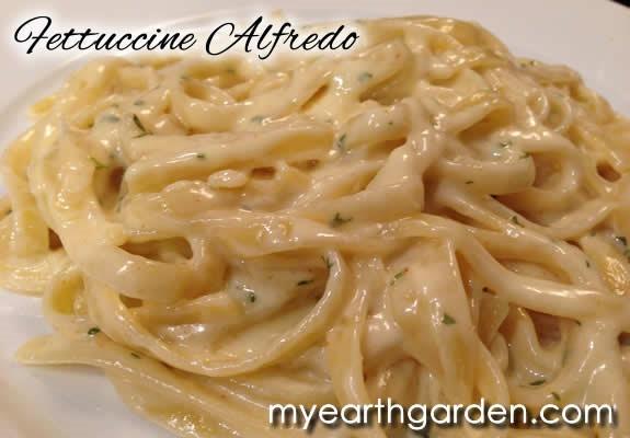 Make Your Own Fettucine Alfredo
