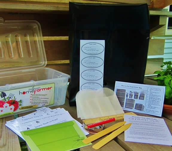 Enter to Win a Seed Keeper Home Farmer seed storing kit!