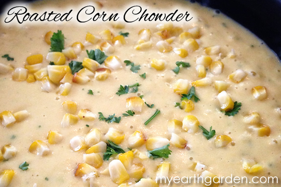 Michael Nolan's Roasted Corn Chowder